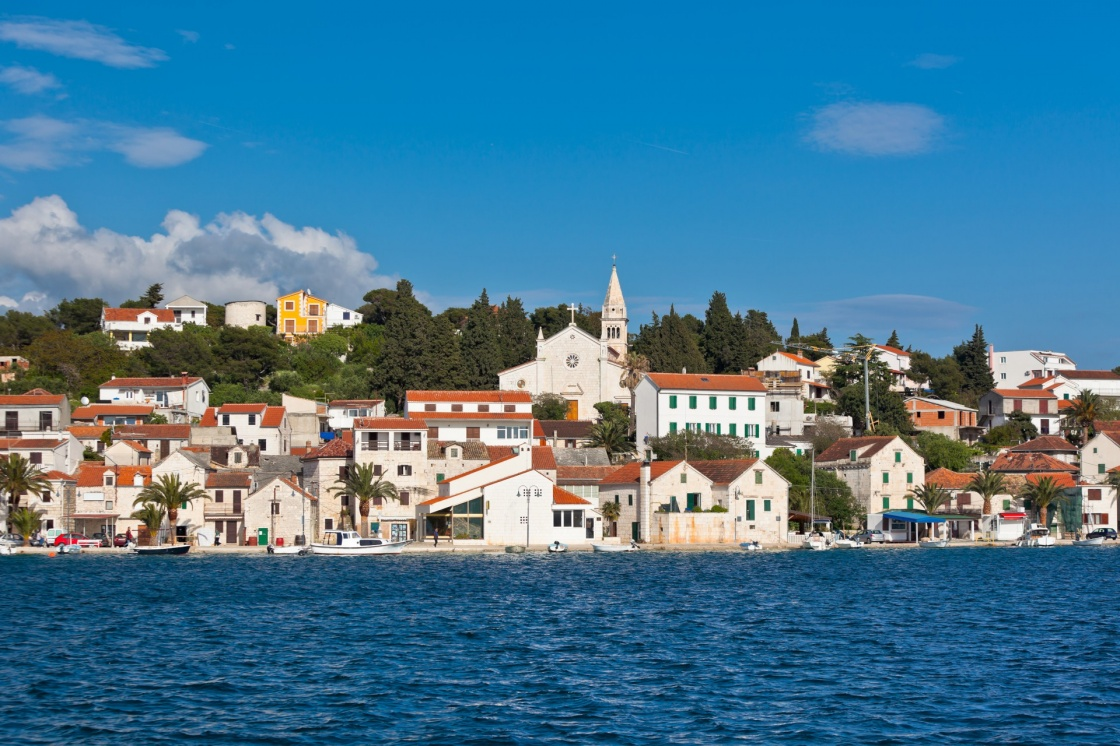 Zaton is a small historic town on the Adriatic coast in Croatia
